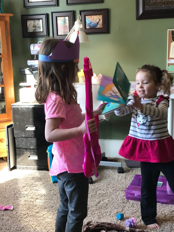 A Peek Inside Our Homeschool Day with a 14, 5, 3, 2, and 1 yearold.
