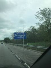 Crossing into PA